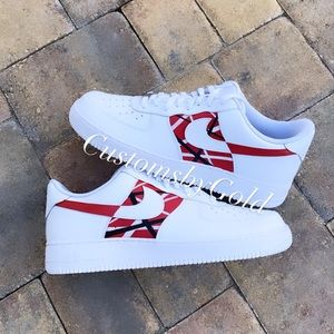 Nike customs Air Force 1 Halen Halen Frankenstein
